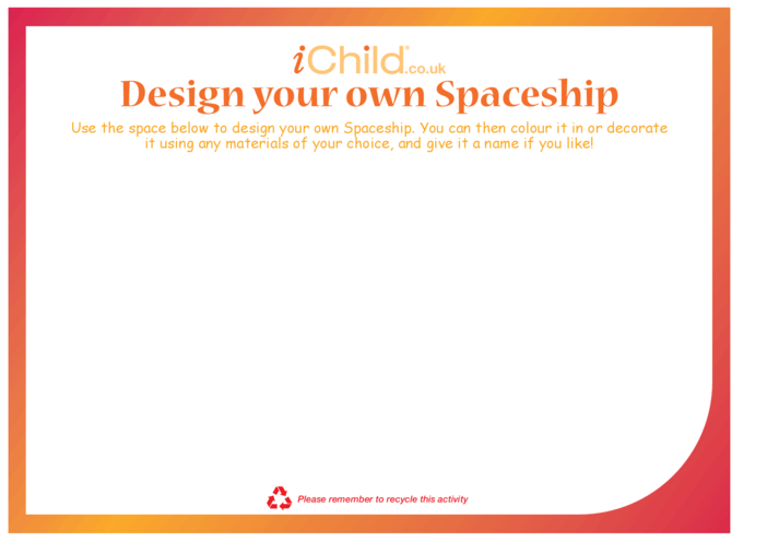 Thumbnail image for the Design a Spaceship activity.