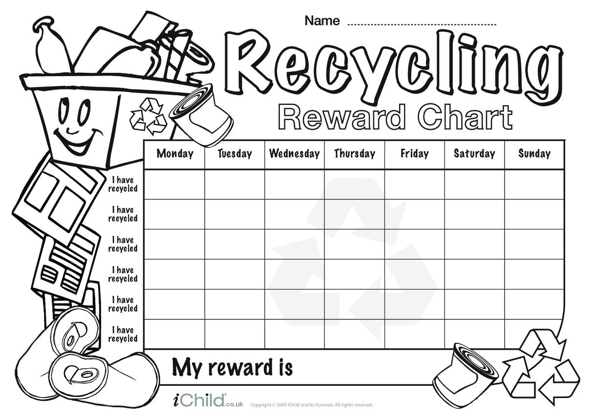 Recycling Reward Chart