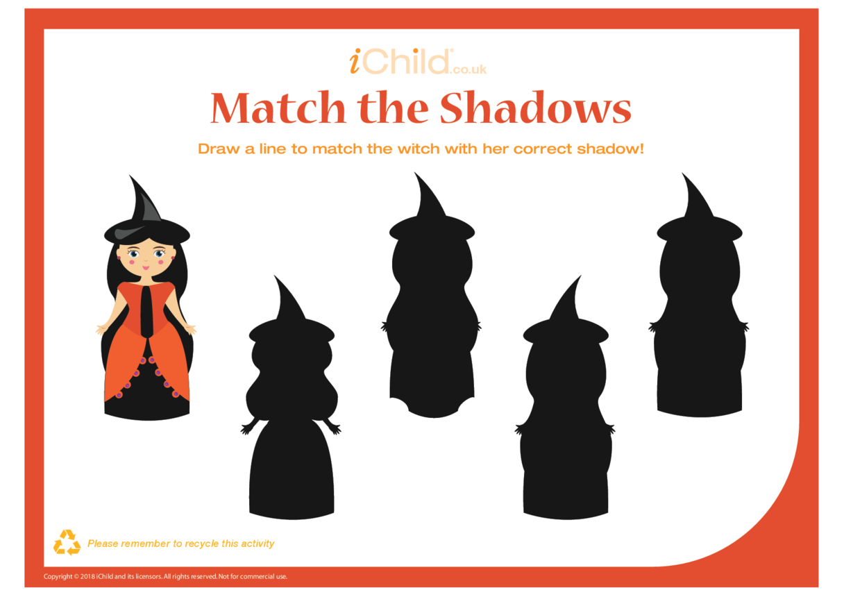 Match the Shadows (Witch)