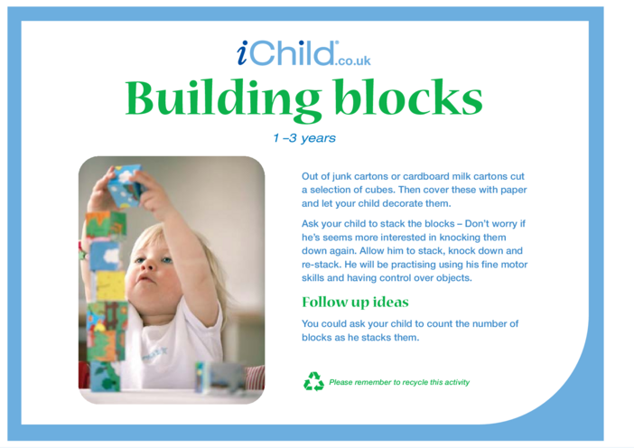 Thumbnail image for the Building Blocks activity.