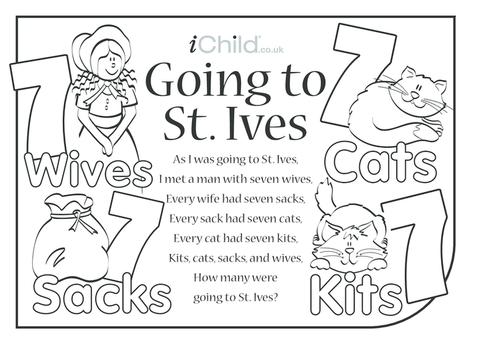 Thumbnail image for the Going to St Ives Lyrics activity.