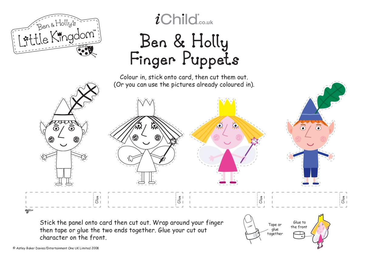 Finger Puppets: Ben & Holly