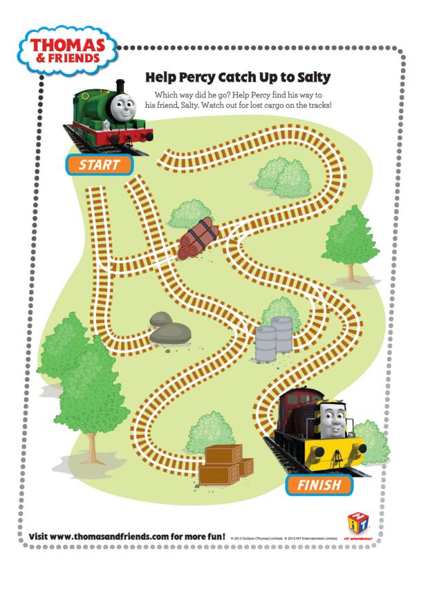 Percy's Maze (Thomas & Friends)