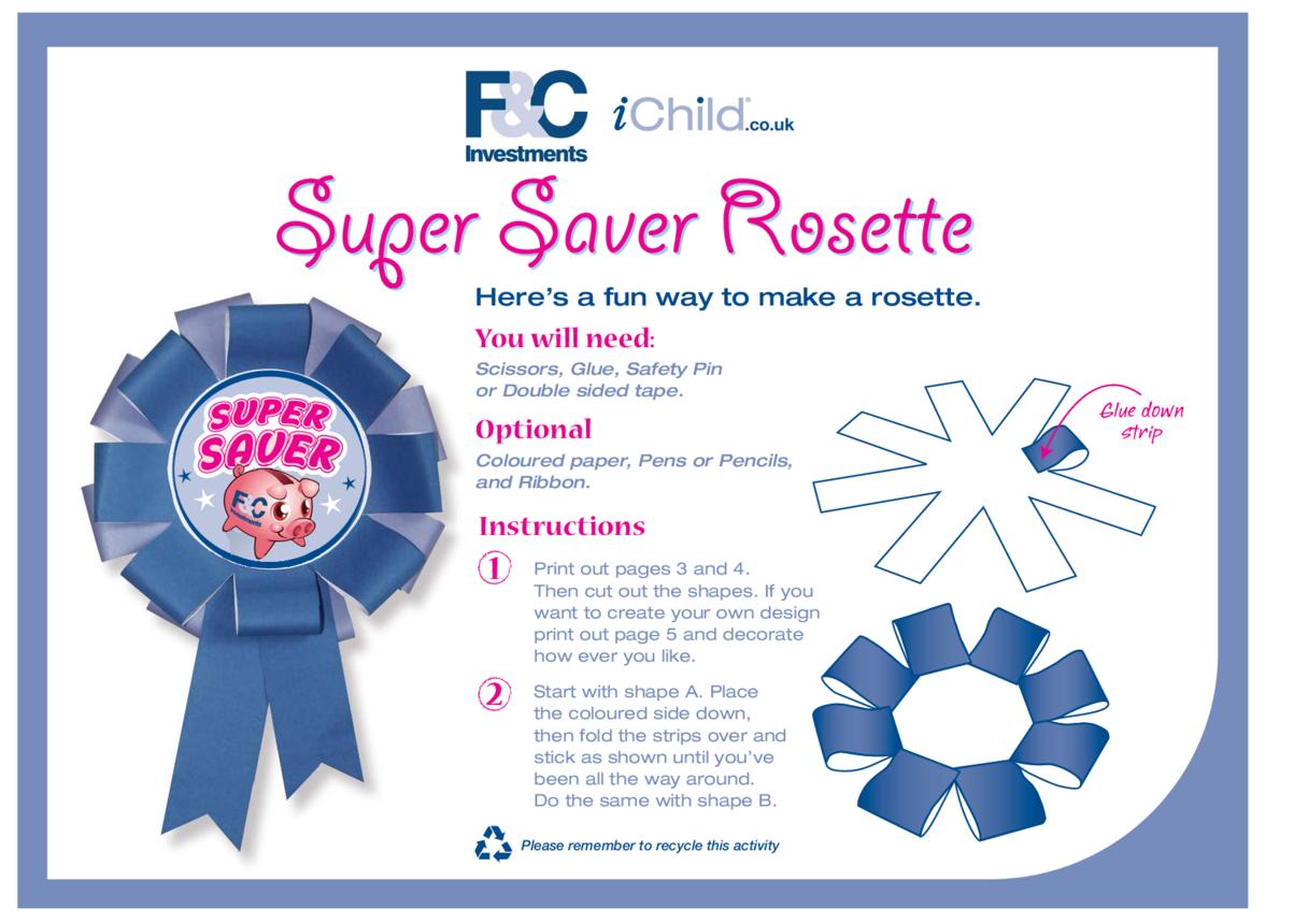 Super Saver Rosette