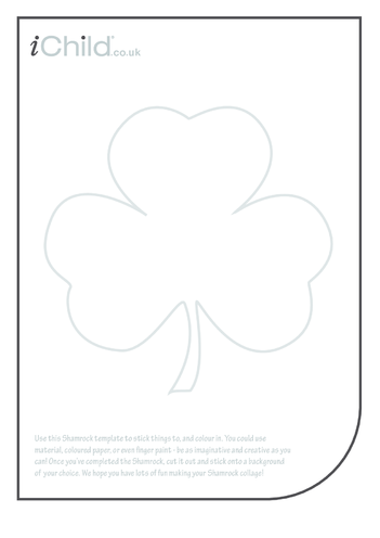Thumbnail image for the Shamrock Collage activity.