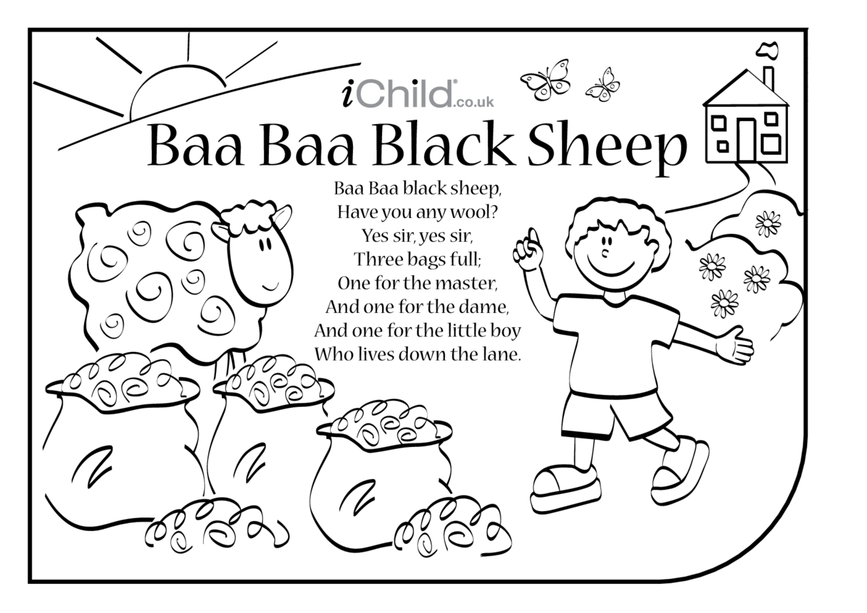 Baa Baa Black Sheep Lyrics