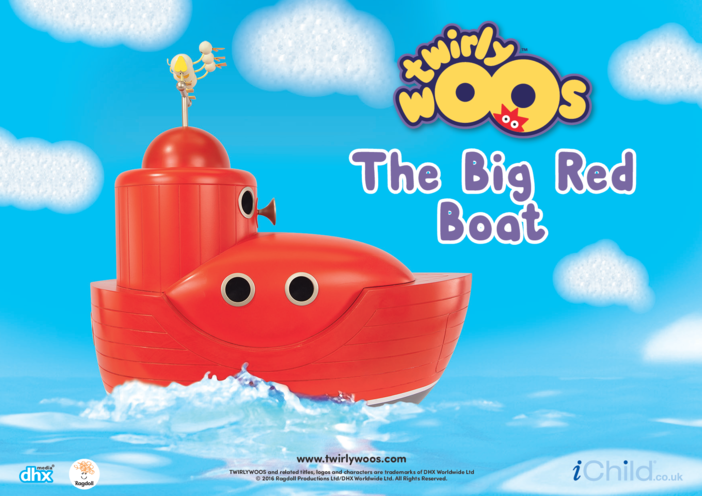 Thumbnail image for the The Big Red Boat activity.