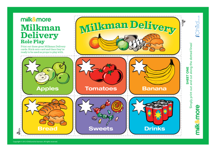 Thumbnail image for the Milkman Role Play activity.