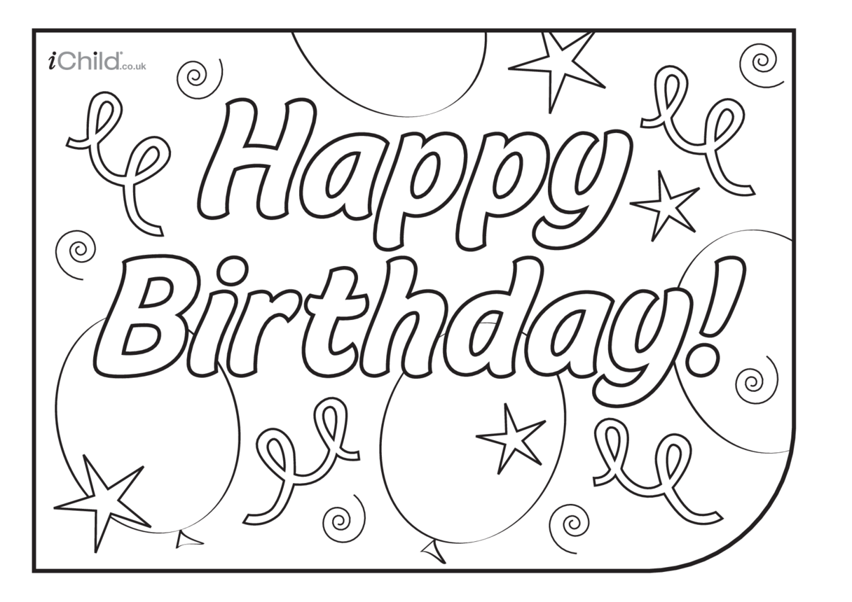 Birthday Party Place Mats