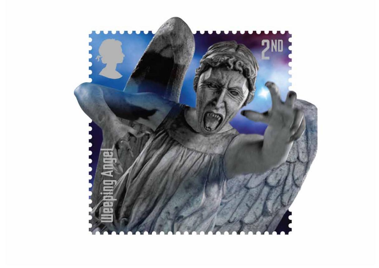 Stamp Image- Weeping Angel