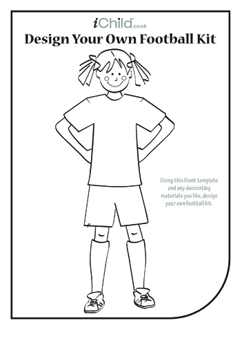 Thumbnail image for the Design your own Football Team- Girl activity.