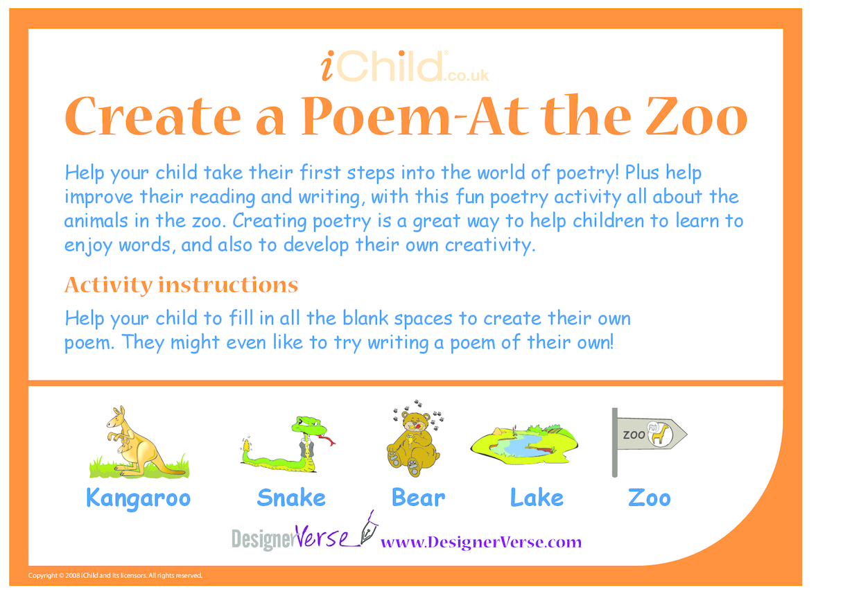Poem- At the Zoo
