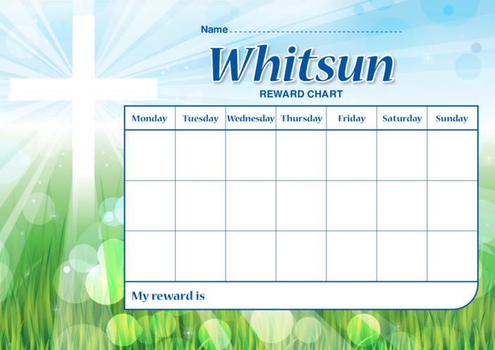 Thumbnail image for the Whitsun Reward Chart activity.
