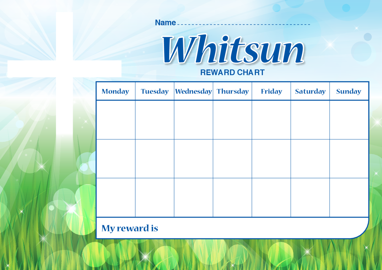 Whitsun Reward Chart