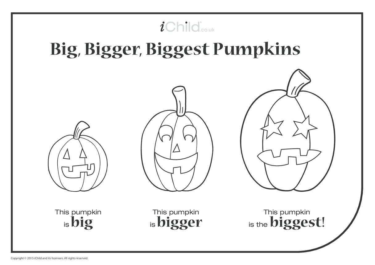 Big, Bigger, Biggest Pumpkin
