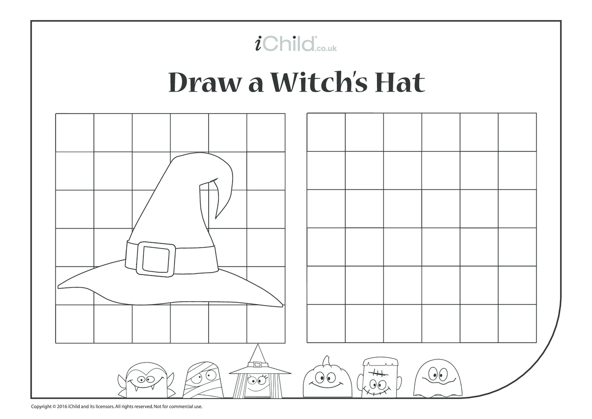 Draw a Witch's Hat