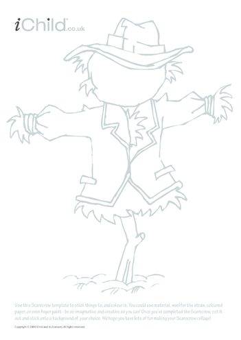 Thumbnail image for the Scarecrow Collage activity.