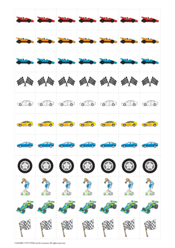 Thumbnail image for the Car Reward Chart Stickers activity.