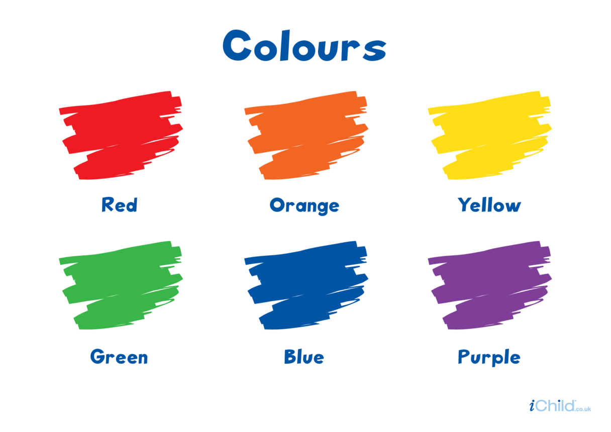 Colours (primary & secondary