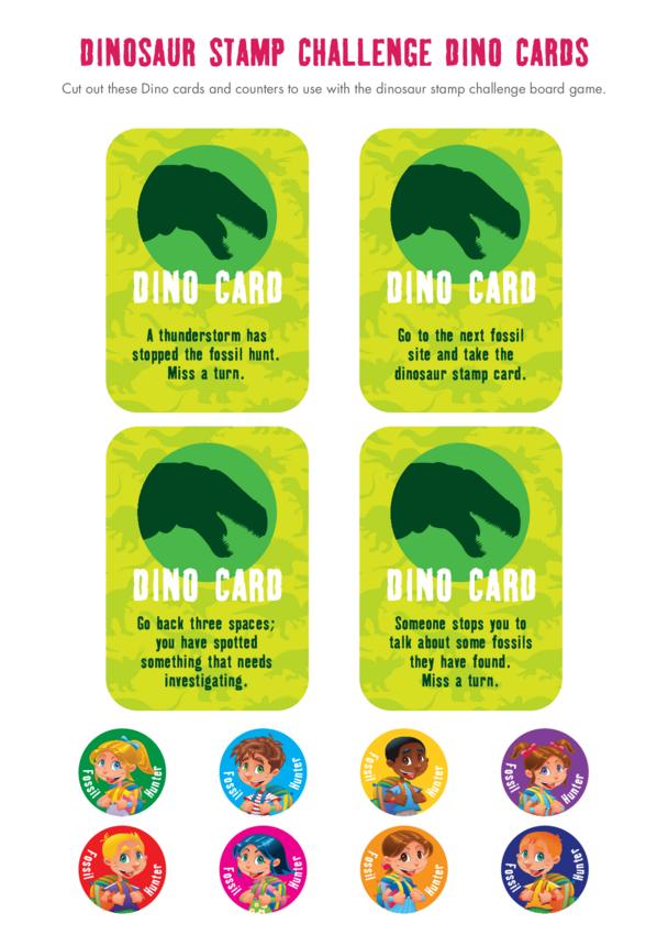Primary 5) Dino Cards