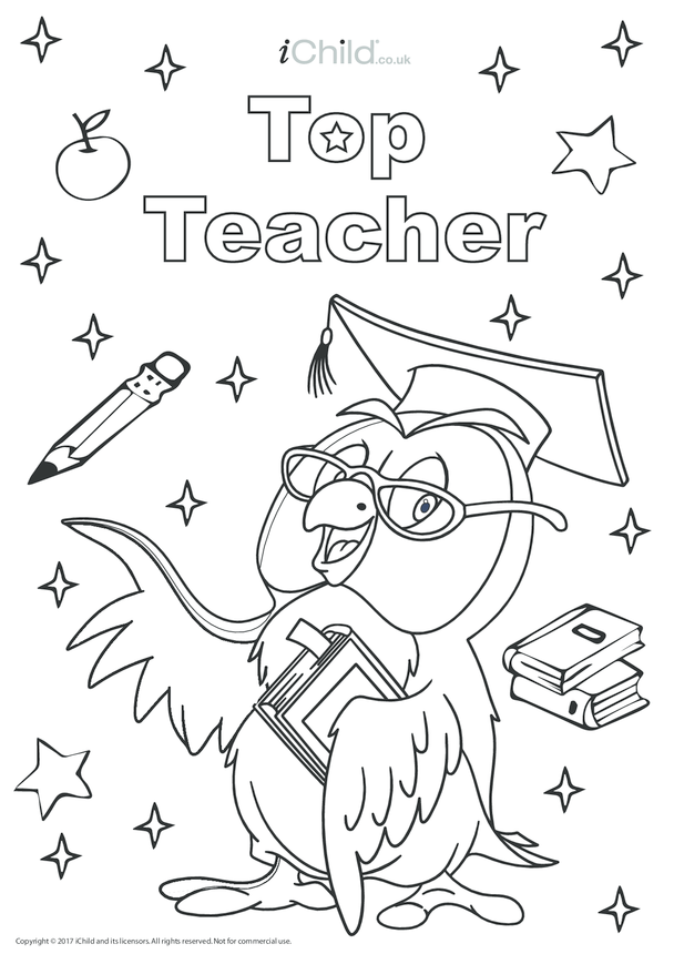 Top Teacher Poster