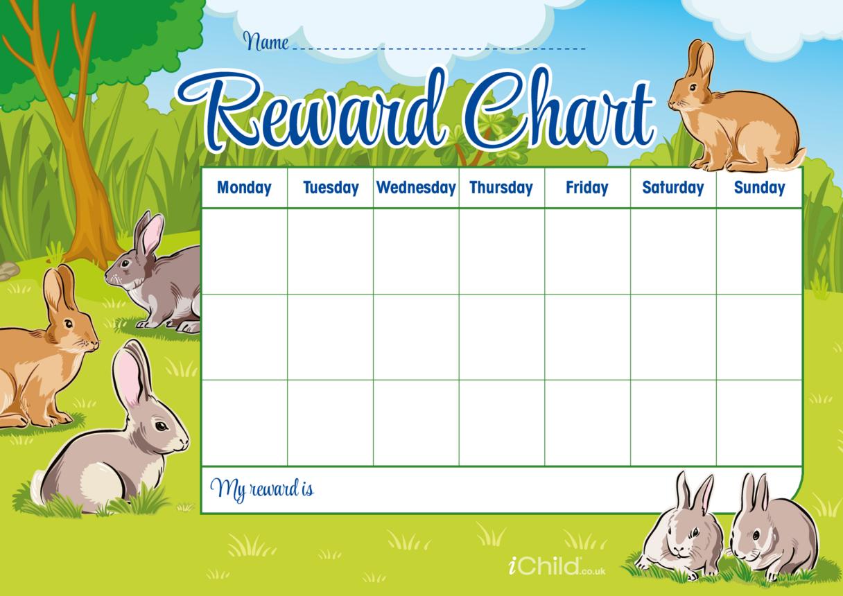 Rabbit Reward Chart
