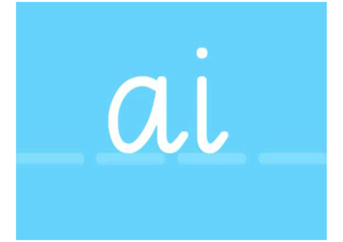 Thumbnail image for the Phonics- AI Vowel Digraph activity.