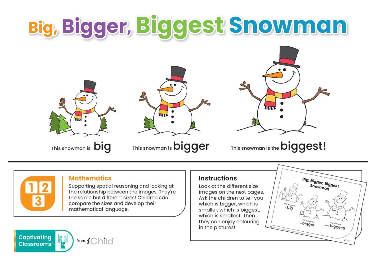 Big, Bigger, Biggest Snowman
