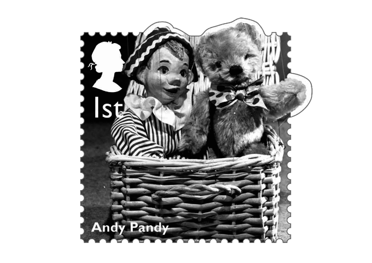 Stamp Image - Andy Pandy