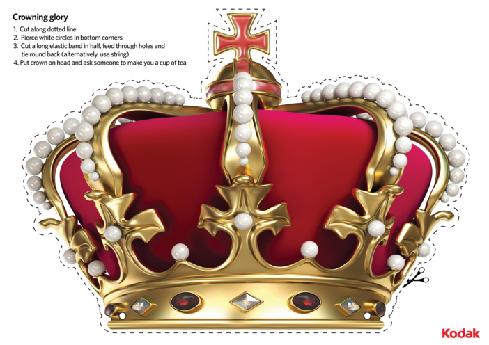 Thumbnail image for the Crown Craft activity.