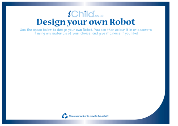 Thumbnail image for the Design your own Robot activity.