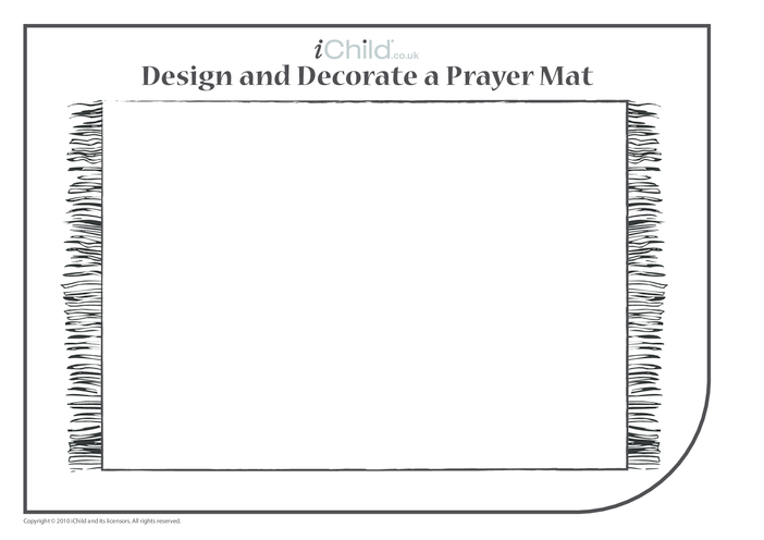 Thumbnail image for the Decorate a Prayer Mat activity.