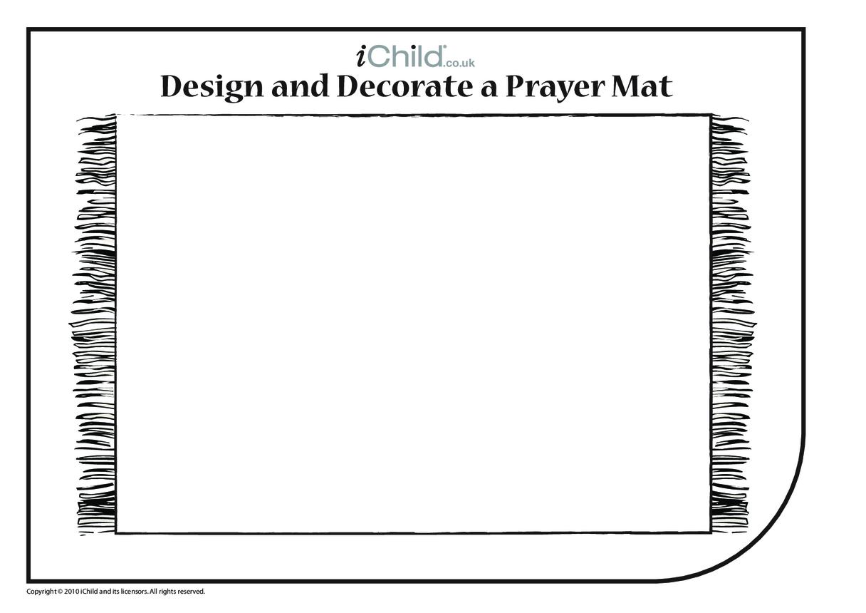 Decorate a Prayer Mat