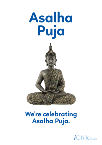 Thumbnail image for the Asalha Puja - Photo poster activity.