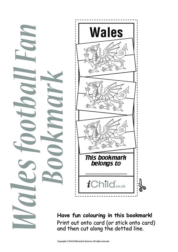 Cymru (aka Wales) Football Bookmark