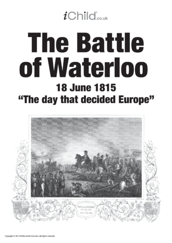 Thumbnail image for the Battle of Waterloo Poster activity.