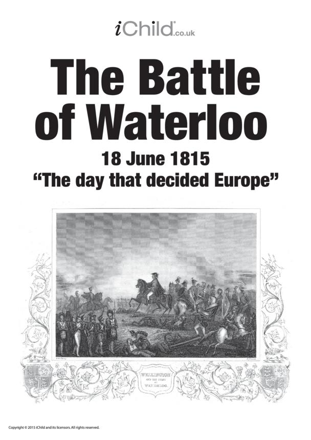 Battle of Waterloo Poster