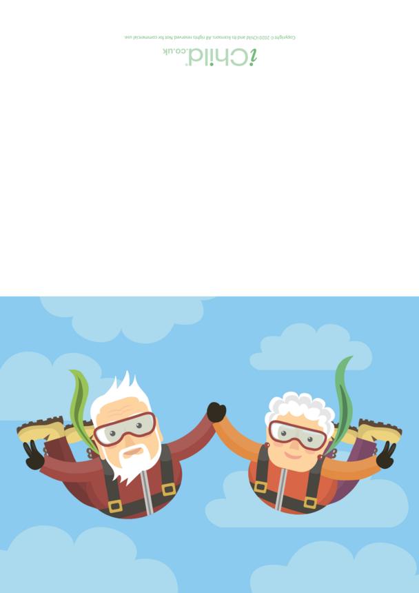 Grandparents Dancing Card