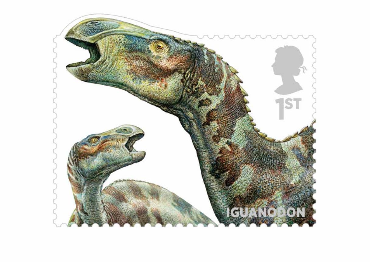 Stamp Image- Iguanodon