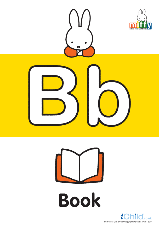 B: Miffy's Letter Bb