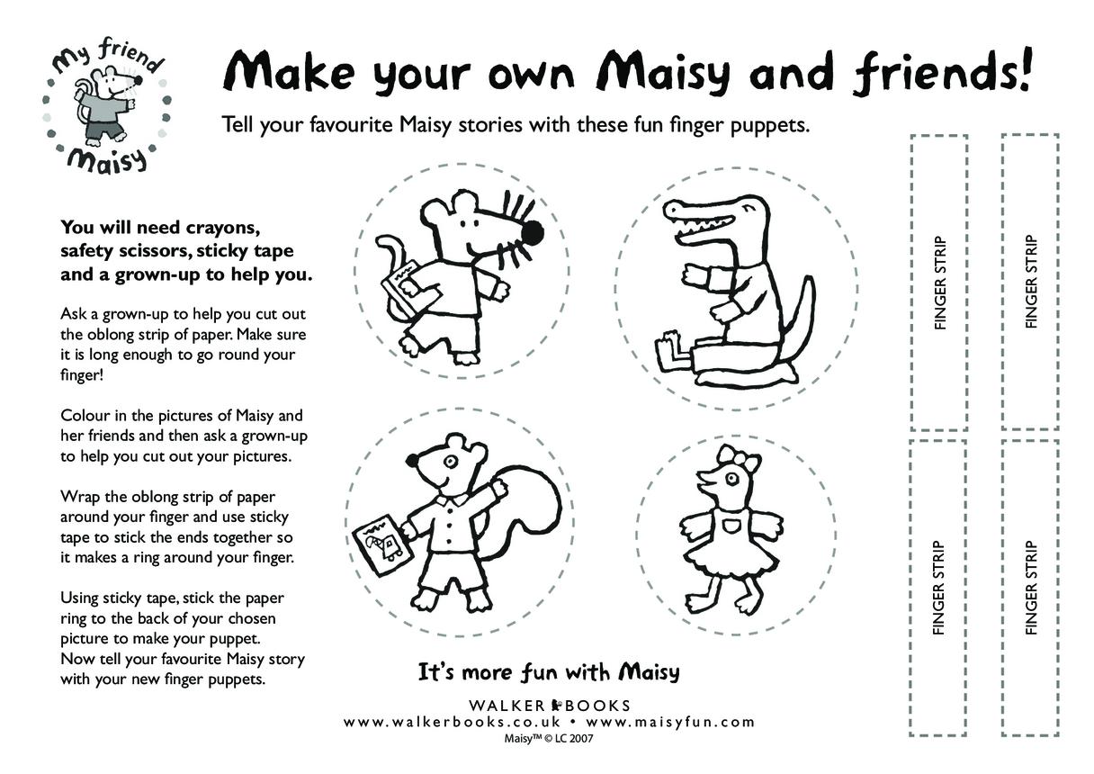 Maisy Finger Puppets