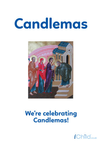 Thumbnail image for the Candlemas - Photo Poster activity.