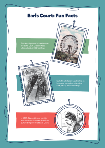 Thumbnail image for the Earls Court Activity: Fun Facts activity.