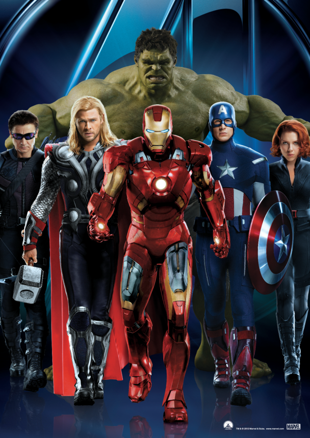 Avengers Assemble Character Poster