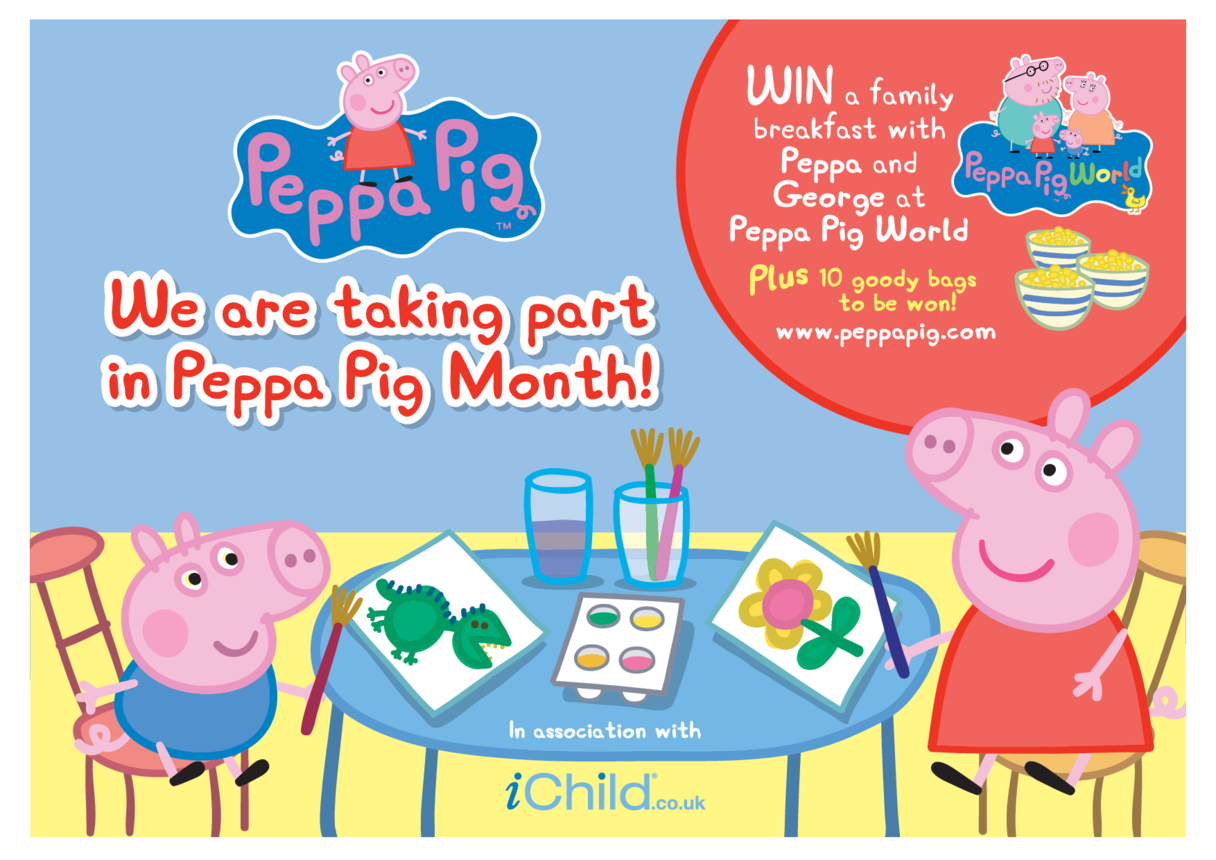 Peppa Pig Month Poster