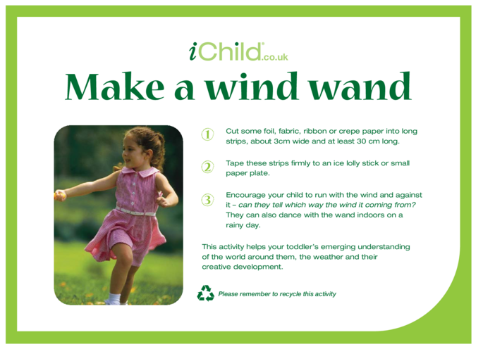 Thumbnail image for the Make a Wind Wand activity.