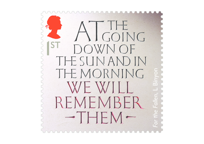 Thumbnail image for the Royal Mail iStamp Club The Great War 1914 - For the Fallen Stamp activity.