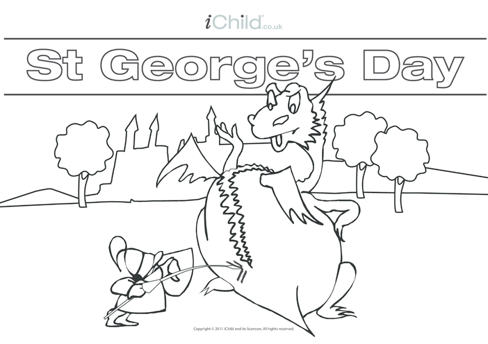 Thumbnail image for the St. George's Day Poster activity.