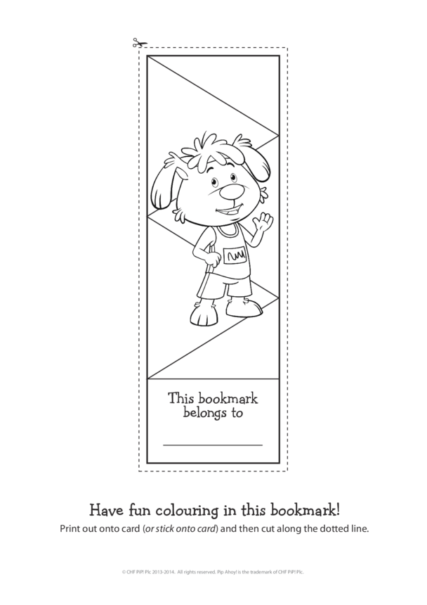 Pip Commonwealth Games Bookmark (Pip Ahoy!)