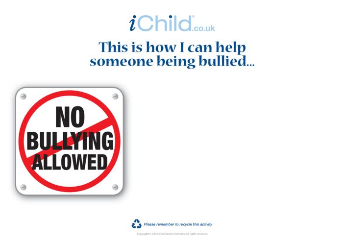 Thumbnail image for the Goal Setting: Anti Bullying activity.